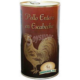 ARNALDOS Pollo en escabeche lata 1,5 kg