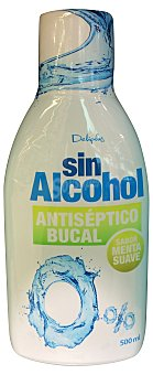 Deliplus Enjuague bucal sin alcohol Botella 500 cc