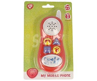Productos Económicos Alcampo Teléfono infantil con luces y sonidos 1 unidad