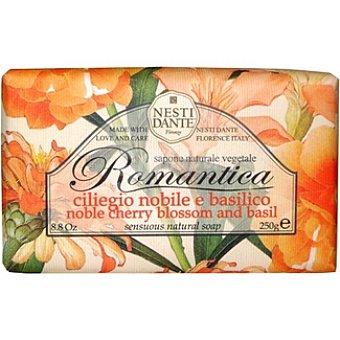 Nesti dante Pastilla de jabón Romántica nobile e basilico Pastilla 250 g