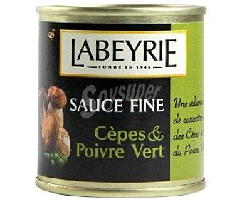 LABEYRIE Salsa de setas y pimienta verde 90 Gramos