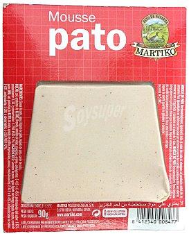 MARTIKO MOUSSE PATO PAQUETE 90 g