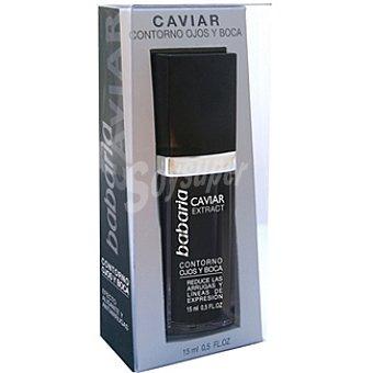 BABARIA Caviar Extract Contorno de ojos y boca reduce las arrugas y línea de expresión Envases 15 ml