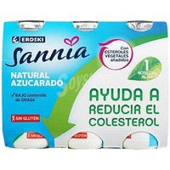 Eroski Sannia Reductor de colesterol natural Pack 6x100 g