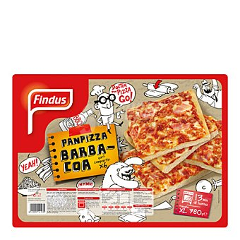 Findus Panpizza barbacoa 780 g