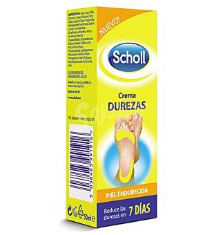 Scholl Crema para eliminar las durezas de los pies Caja 50 ml