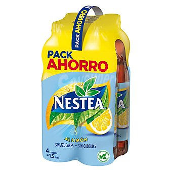 Nestea Refresco de té al limón light Pack 4 u x 1.5 l