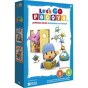 GO Let's Pocoyo, Vol. 5-6 DVD