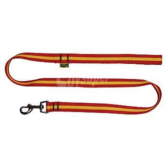 Bub's Correa Bubs para perros España Rojo / Amarillo 2 cm
