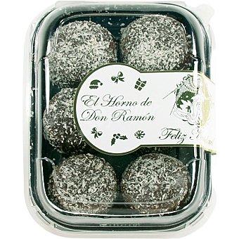 EL HORNO DE DON RAMON delicias de sésamo con chocolate y coco sin azúcar especial diabéticos  envase 185 g