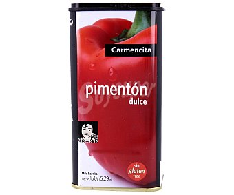 Carmencita Pimentón dulce Caja 150 g
