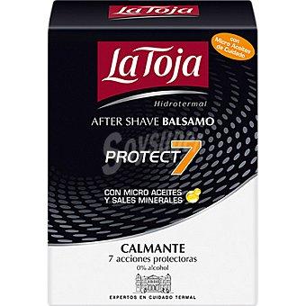 La Toja After shave balsamo Protect 7 con micro aceites y sales minerales frasco 100 ml Frasco 100 ml
