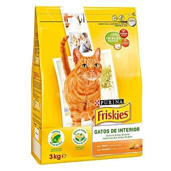 Friskies Purina Alimento para gato de interior Saco 3 kg