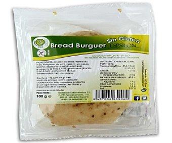EPSILON Pan de hamburguesa sin gluten 100 gramos