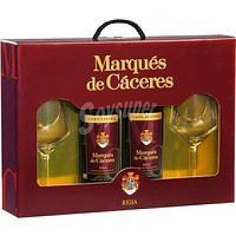M.CACERES G RESERVA P-2 X 0 Estuche 75 L + 2 copas gratis