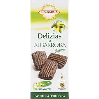 BIO-DARMA Delizias de Algarroba Ecológica con aceite de oliva virgen extra Paquete 100 g