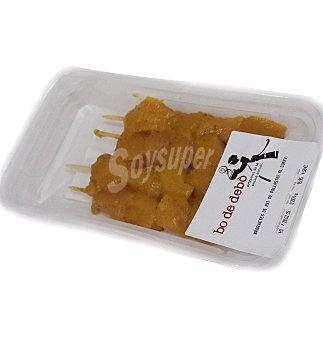 Bo de Debo Brocheta pollo/curry 1 SAF