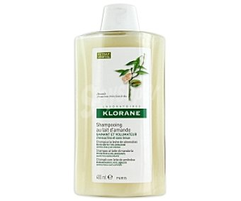 KLORANE Champú a la leche de almendras,envolvente y voluminador,cabellos finos y sin volumen 400ml