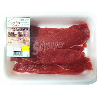 PROPICARN Ternera fioletes 1ªB peso aproximado Bandeja 350 g