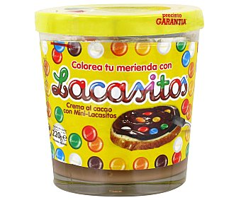 Lacasitos Crema de cacao con mini-Lacasitos Bote 220 g