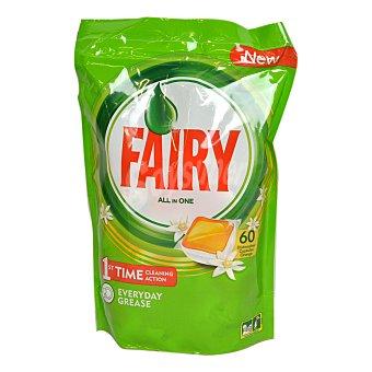 Fairy Lavavajillas máquina sin fosfatos aroma naranja Bolsa 60 dosis