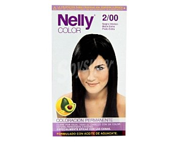 NELLY Color Tinte en Crema Negro Intenso 2/00 1 Unidad