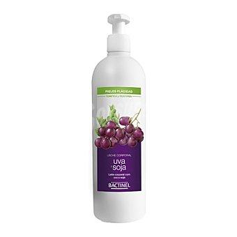 Bactinel Leche corporal con uva y soja para pieles flácidas 400 ml