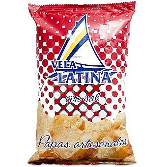 La vela latina Patatas fritas con sal bolsa 150 g Bolsa 150 g