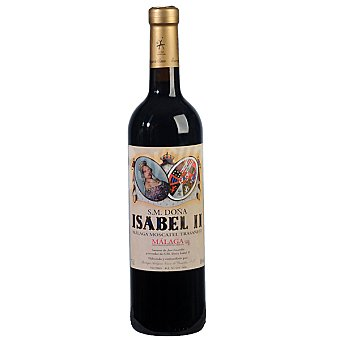 Isabel II Vino de licor dulce moscatel de Málaga Botella 37,50 cl