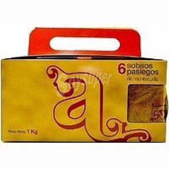 EL ANDRAL Sobao pasiego de mantequilla grande Paquete 1 kg