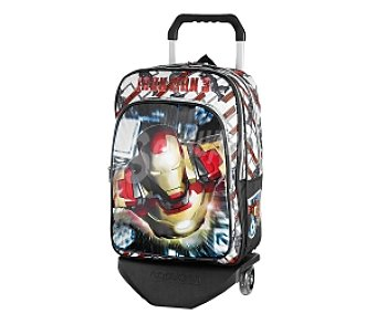 IRON MAN Mochila c/carro Iron Man
