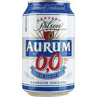 Aurum Cerveza sin alcohol Lata 33 cl