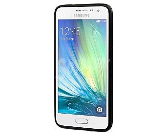 MUVIT Carcasa trasera Minigel, negra, para Samsung Galaxy A5
