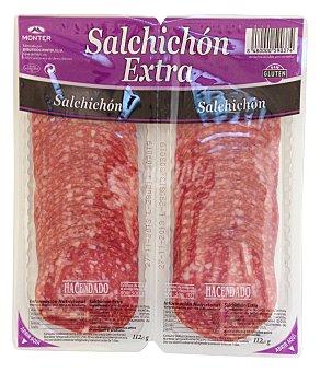 Hacendado Salchichon suave extra lonchas 225 g