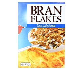 Auchan Cereales Bran Flakes (copos tostados de trigo integral) 375 gramos