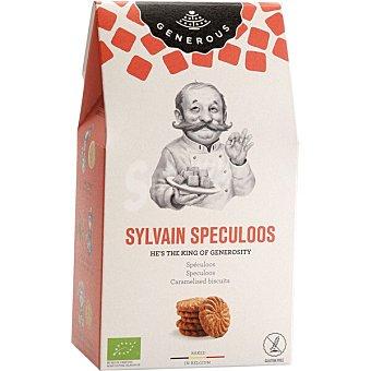 Generous Sylvain Speculoos galletas belgas sin gluten y ecológicas envase 125 g envase 125 g