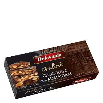 Delaviuda Turrón praliné chocolate con almendras 300 g