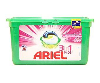 Ariel Color & Style detergente máquina líquido 3 en 1 Pods ápsulas Caja 38 c