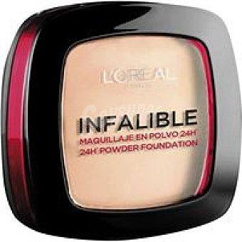 Infalible L'Oréal Paris Maquillaje en polvo Fdt `oreal Pack 1 unid