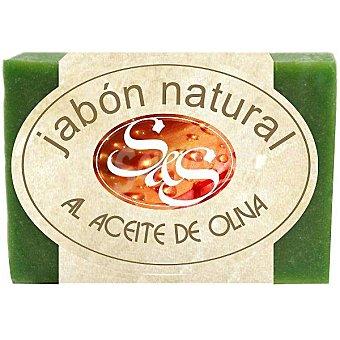 S&S Pastilla de jabón natural al Aceite de Oliva Pastilla 100 g