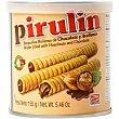 barquillos rellenos de chocolate y avellanas lata 155 g Pirulin