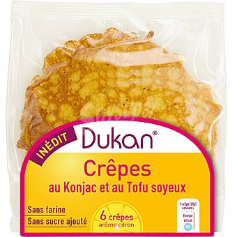 Dieta Dunkan Crepes con tofu y konjac  6 unidades (envase 150 g)