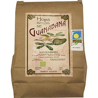 LA HUERTA DE MAMA MARIA Hojas secas de guanabana Bolsa 50 g