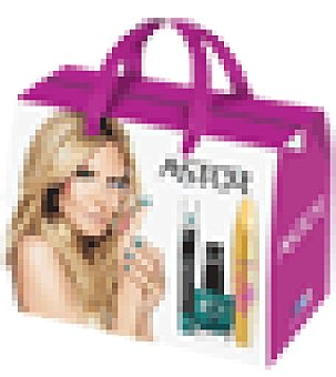 Astor Pack maquillaje Xmas de rimel, esmalte y lápiz de ojos 1 ud