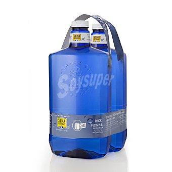 Solán de Cabras Agua Pack 2x3 litros