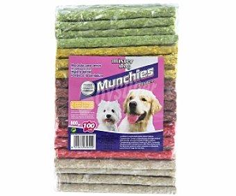 MISTER DOG Mordedor para perros, Munchies, recomendado para higine dental, fortalecer dentadura 10 Unidades