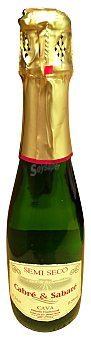 Cabre & Sabate Cava semiseco Botella de 37,5 cl