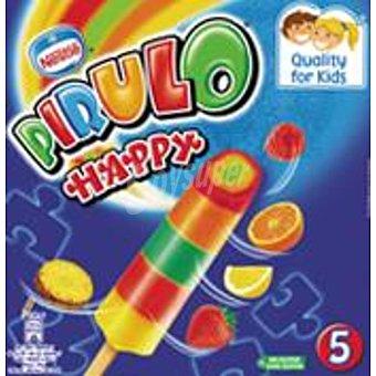Nestlé Helado pirulo happy caja 5 ud 350 ml Caja 5 ud 350 ml