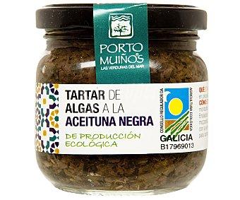 Porto Muiños Tartar de algas a la aceituna negra de producción ecológica 170 gramos