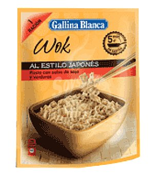Gallina Blanca Wok japones ideas plato 80 g